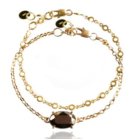 After the Frost Duo Bracelet - Gold