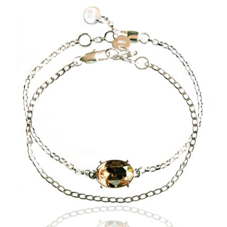 After the Frost Duo Bracelet - Silver