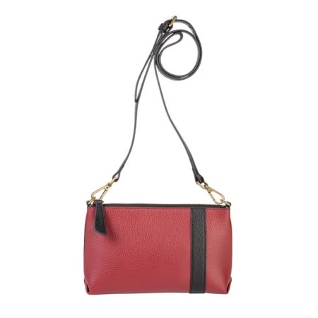 Abstraction Pouch Claret