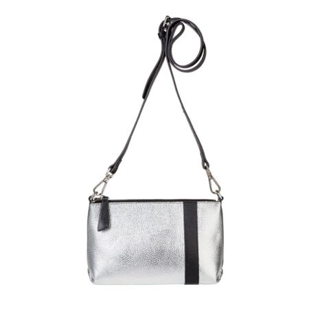 Abstraction Pouch - Silver