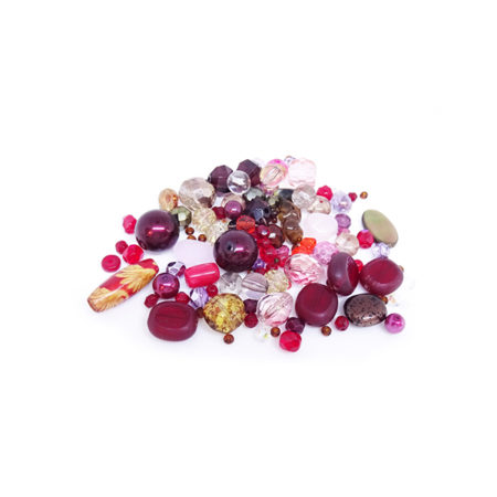 Mixed Bead Bag (Choice of Colours)