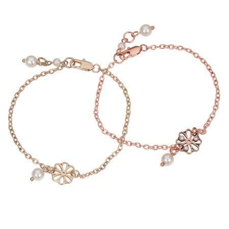 Friendship Bracelets Gold & Rose Gold