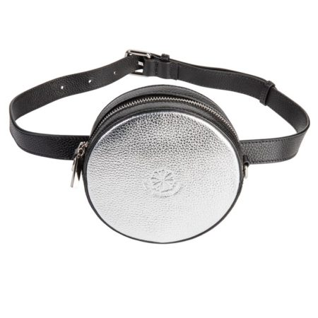 Full Circle Belt Bag - Silver