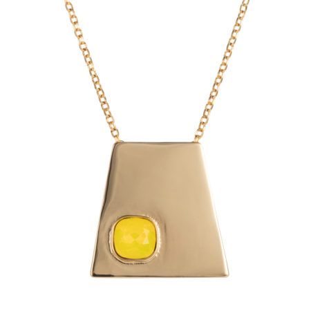 Geo Pendant - Gold Yellow - 001