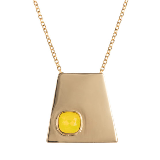 Geo Pendant - Gold Yellow - 001