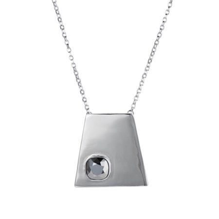 Geo Pendant Silver Chrome - 001
