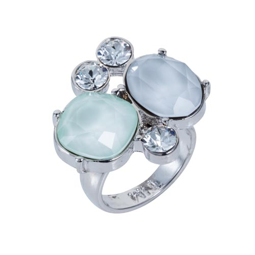 Kate Cocktail Ring Dove & Mint A
