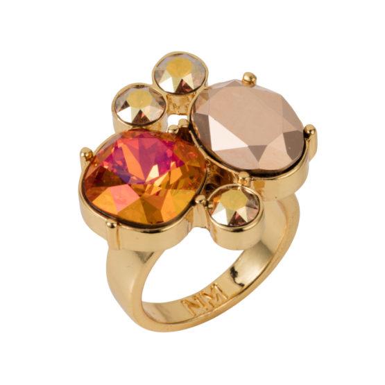 Kate Cocktail Ring - Magma - 01