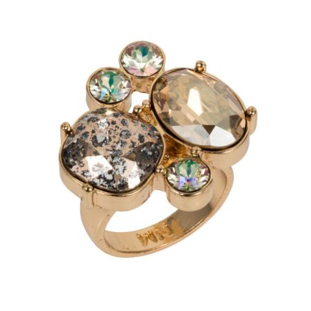 Kate Cocktail Ring Soft Gold 01
