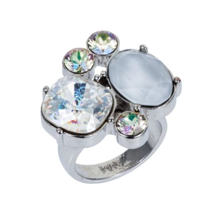 Kate Cocktail Ring Soft Silver 01