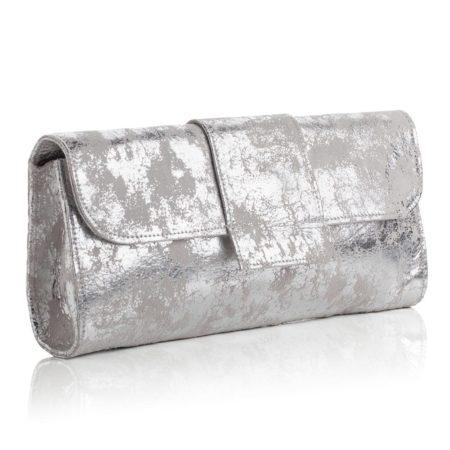 Kensington Clutch Antique Silver