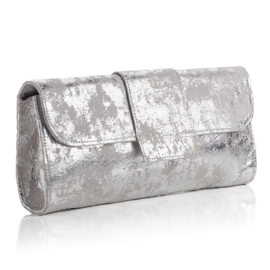 Kensington Clutch Antique Silver