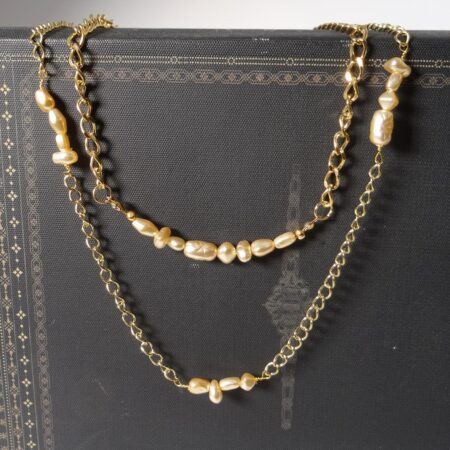 'I Made It!' Layered Pearl Duo Necklace Kit