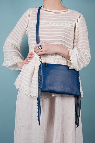 Lookbook - The Angel bag, blue