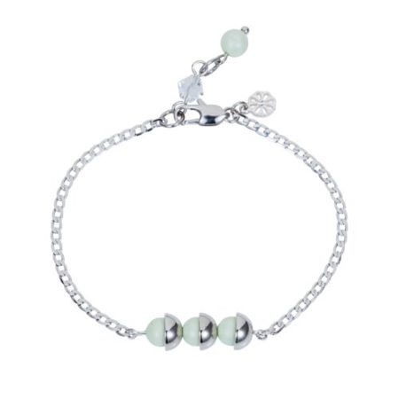 Mini Pearl Friendship Bracelet Mint Green A