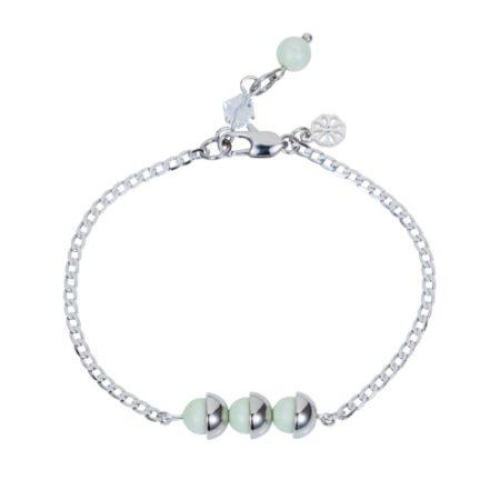 Mini Pearl Friendship Bracelet Mint Green A