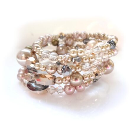 'I Made It!' Multi Row Memory Wire Bracelet