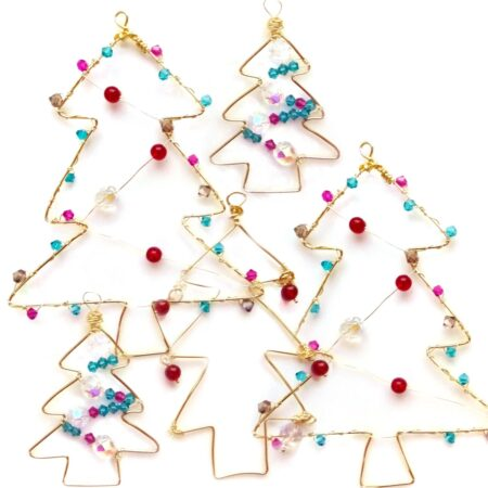 'I Made It!' Beaded Christmas Tree Decoration Kit