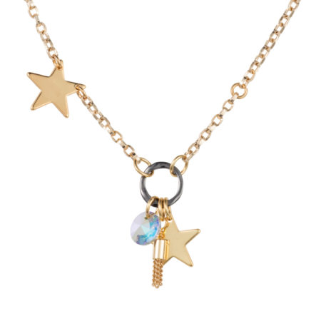 Twinkle Star Necklace - Gold