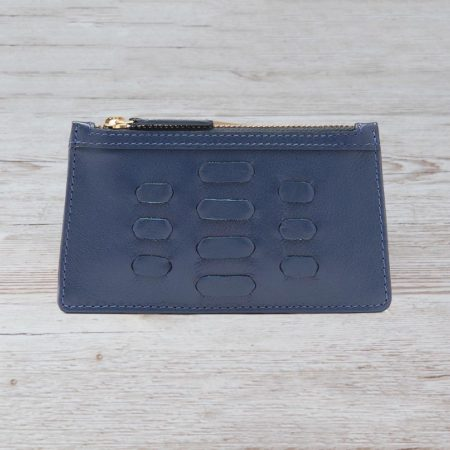The Piccadilly Card Holder - Navy