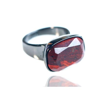 Semi Precious Rainbow Jasper H Ring