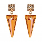 Shard Earrings - Magma - 01