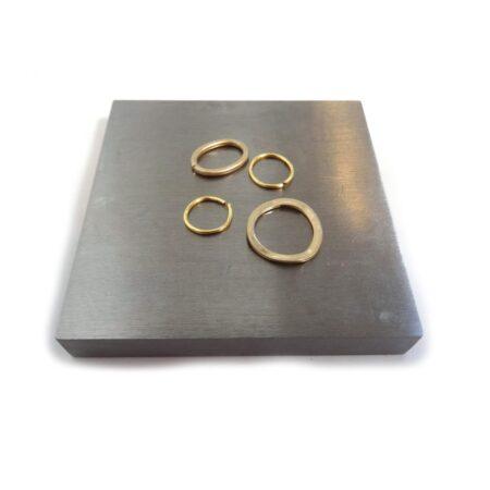 Solid Steel Jewellers Block