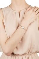 Square Stone & Glass Pearl Bracelet Dove B