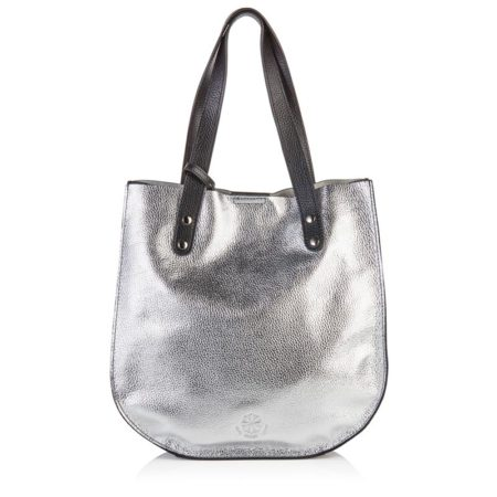 The St Ives Tote - Silver
