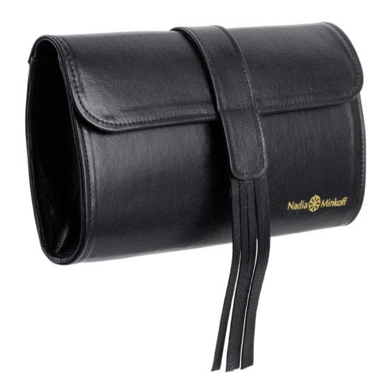 The Belgrave Clutch Bag - Black - 01