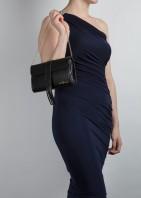 The Belgrave Clutch Bag - Black - 04