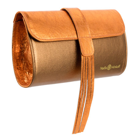 The Belgrave Clutch Bag - Copper - 01