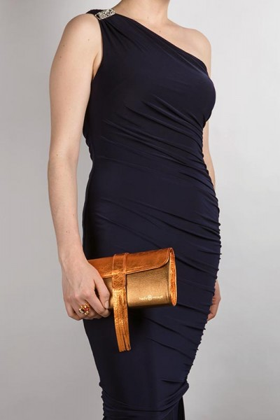The Belgrave Clutch Copper Lookbook