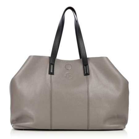 The Brewer Holdall - Grey & Black