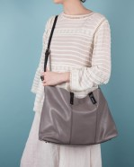 The Brewer Holdall - Grey - 003
