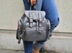 The Brixton Midi Backpack - Grey 001