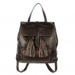 The Finsbury Backpack - Dark Brown - 001