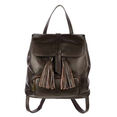 The Finsbury Backpack - Dark Brown - 001
