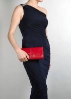 The Newington Clutch Bag Red