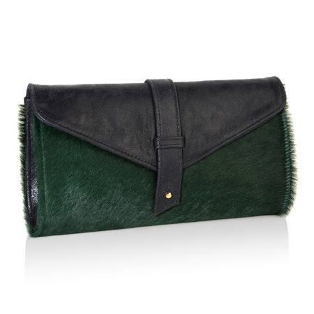 The Newington pony green with black