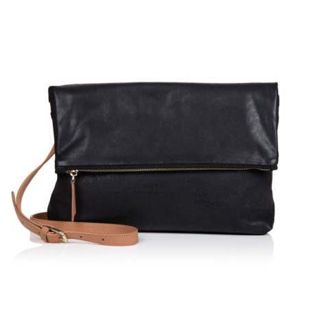 The Rena Bag - Black Tan - 001