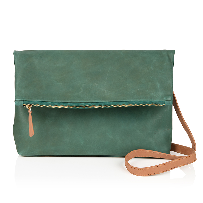 The Rena Bag - Moss Green 001