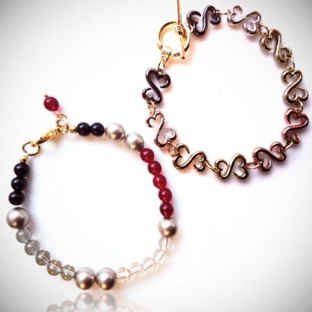 'I Made It' Twice the Love Duo Bracelets