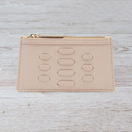 The Piccadilly Card Holder - Beige