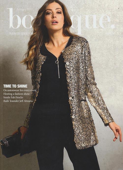 boutique magazine - february 2017 - cover