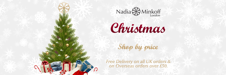 christmas web shop banner
