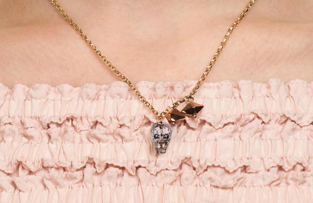 crystal skull rose gold giveaway