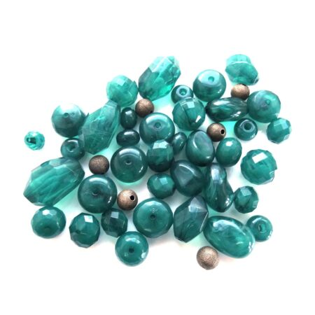 Resin Beads (Choice of colours)