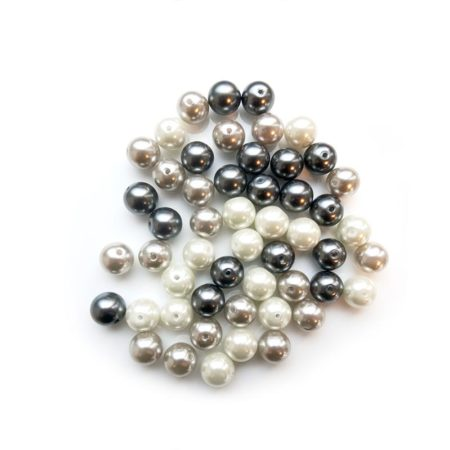 Glass Pearl Bead Bag