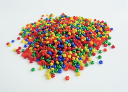 Seed Bead Bag (Choice of Colours)